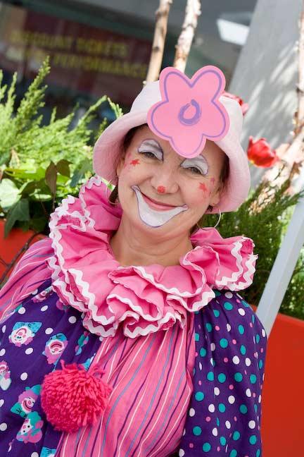 Sookie the Clown is a Ham, Fun Events, Toronto Clown
