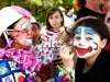 Sookie the Clown is Clowning around with her Face Paints, from Fun Events, Toronto, ON
