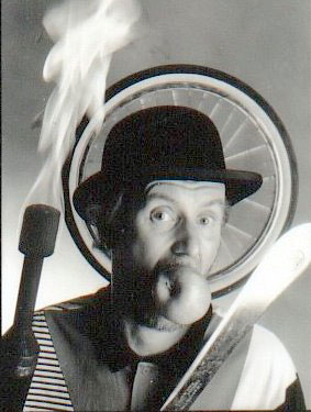 Johnny Toronto, fire, unicycle