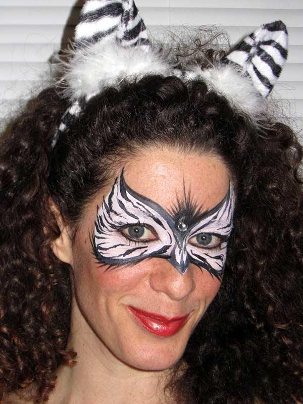 Deyanne zebra mask Toronto Ontario
