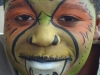 Green Monster Face Painting Community kid's Entertainment