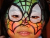Rainbow Spider Guy Birthday Party Face Painting Clown