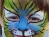 Tiger Boy Transformation Face Painting Community Activity Toronto Ontario