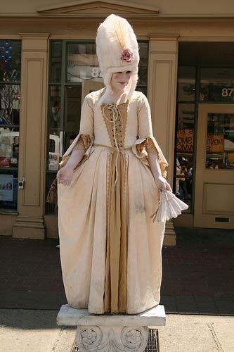 Living Statue Marie Antoinette, Toronto, Ontario