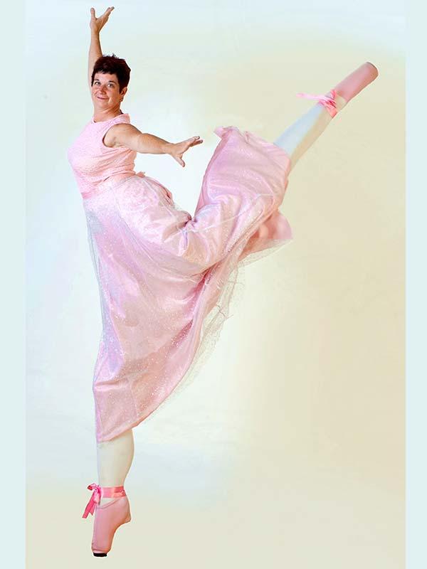 Stilt Walking Ballerina, Toronto, Ontario
