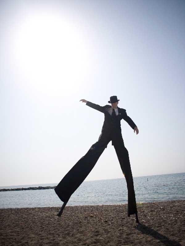Robert Dance Stilt Walker