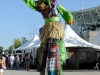 Green Stilt walker