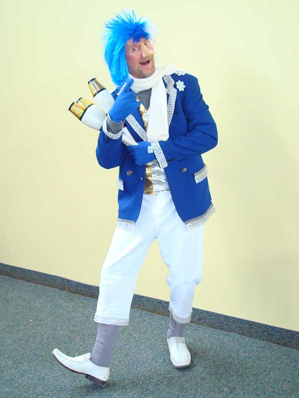Winter Fun Jack Frost Character