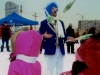 Canadian Performer Jack Frost Entertaining at a Winter Festival with Fun Events, Toronto, ON